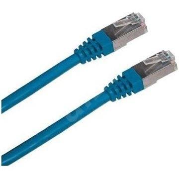 Datacom CAT5E FTP modrý 1m - Síťový kabel