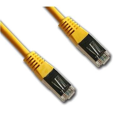Datacom CAT5E FTP žlutý 3m - Síťový kabel