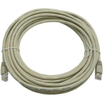 Datacom CAT6, UTP, 10m šedý - Síťový kabel