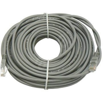 Datacom CAT6, UTP, 20m šedý - Síťový kabel