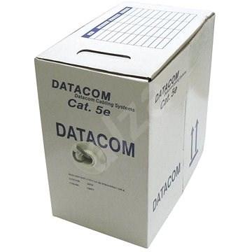 Datacom drát, CAT5E, UTP, 305m/box - Síťový kabel