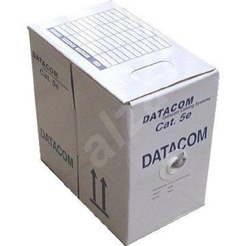 Datacom drát, CAT5E, FTP, PE venkovní, 305m/box - Síťový kabel
