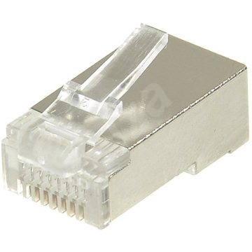 10-pack,Datacom RJ45, CAT5E, STP, 8p8c, stíněný, neskládaný, na drát - Konektor