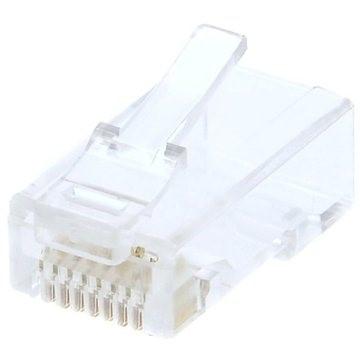 10-pack,Datacom RJ45, CAT6, UTP, 8p8c, nestíněný, skládaný, na licnu (lanko) - Konektor