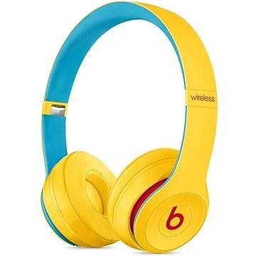 Beats Solo3 Wireless - Beats Club Collection - Club žlutá - Bezdrátová sluchátka