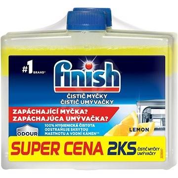 FINISH Čistič myčky Lemon 250 ml DUO - Čistič myčky