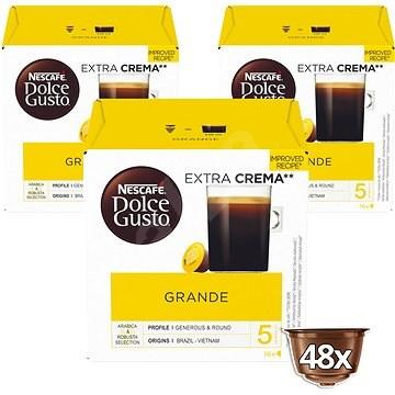 NESCAFÉ Dolce Gusto Grande, 3 balení - Kávové kapsle