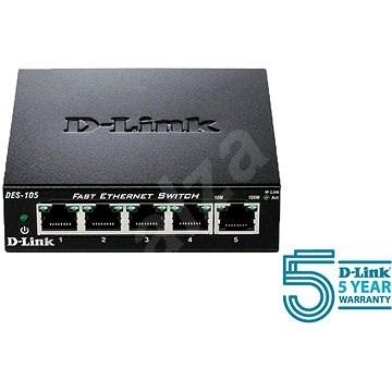 D-Link DES-105/E - Switch