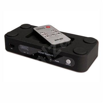 PremiumCord Externí HDMI Switch 5000 - Přepínač