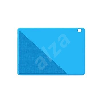 Lenovo Tab M10 HD Ochraný gumový obal + fólie (modrý) - Pouzdro na tablet