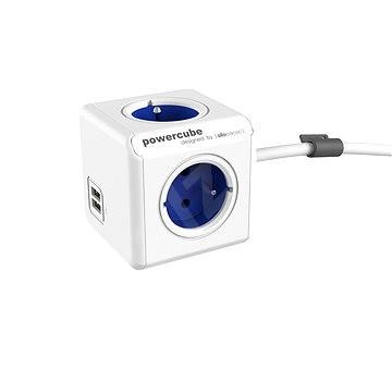 PowerCube Extended USB modrá - Zásuvka