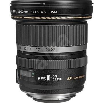 Canon EF-S 10-22mm f/3.5 - 4.5 USM Zoom černý - Objektiv