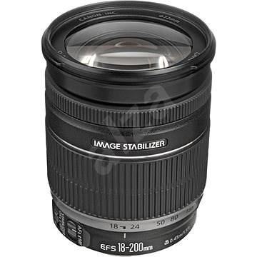 Canon EF-S 18-200mm f/3.5 - 5.6 IS Zoom černý - Objektiv