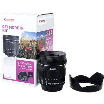 Canon EF-S 10-18mm f/4,5 - 5,6 IS STM + EW-73C - Objektiv