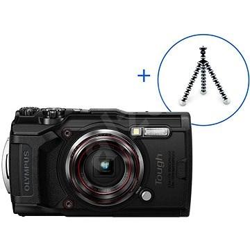 Olympus TOUGH TG-6 + POWER KIT černý - Digitální fotoaparát