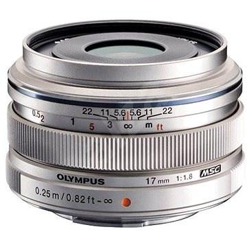M.ZUIKO DIGITAL 17mm silver f/1.8 - Objektiv