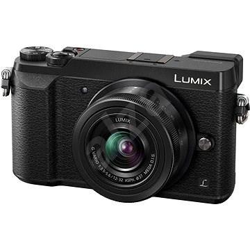 Panasonic LUMIX DMC-GX80 černý + objektiv 12-32mm - Digitální fotoaparát