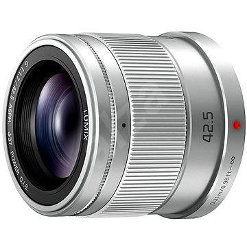 Panasonic Lumix 42,5 mm f/1.7 ASPH Power OIS stříbrný - Objektiv