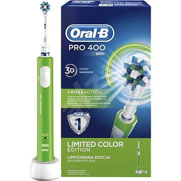 Oral-B Pro 400 Green - Elektrický zubní kartáček