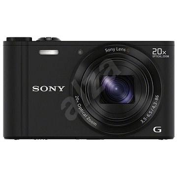 Sony CyberShot DSC-WX350 černý - Digitální fotoaparát