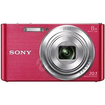 Sony CyberShot DSC-W830 růžový - Digitální fotoaparát