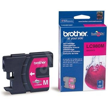 Brother LC-980M purpurová - Cartridge