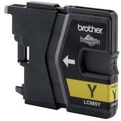 Brother LC-985Y žlutá - Cartridge