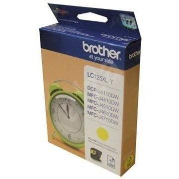 Brother LC-125XLY žlutá - Cartridge