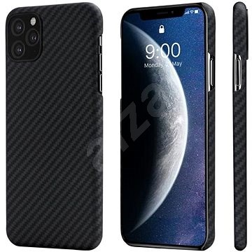 Pitaka Aramid Case Black/Grey iPhone 11 Pro - Kryt na mobil