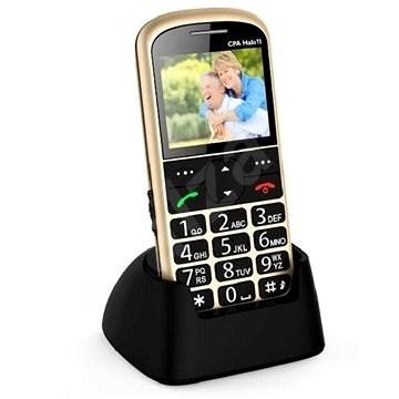 CPA Halo 11 Senior zlatý - Mobilní telefon