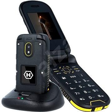 myPhone HAMMER Bow Plus oranžovo-černý - Mobilní telefon