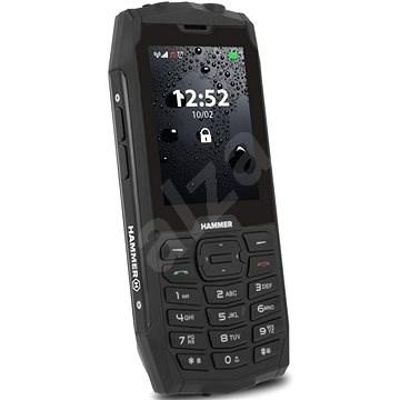 myPhone Hammer 4 černá - Mobilní telefon