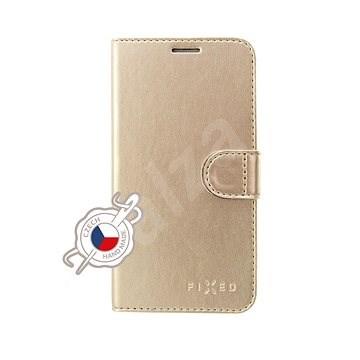 FIXED FIT Shine pro Samsung Galaxy Note10 zlaté - Pouzdro na mobil