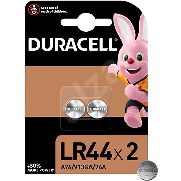 Duracell LR44 2 ks - Knoflíkové baterie