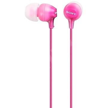 Sony MDR-EX15LP růžová - Sluchátka