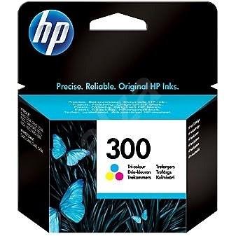 HP CC643EE č. 300 barevná - Cartridge