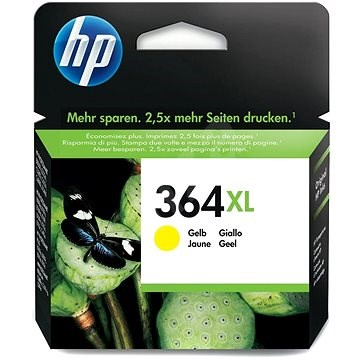 HP CB325EE č. 364XL žlutá - Cartridge