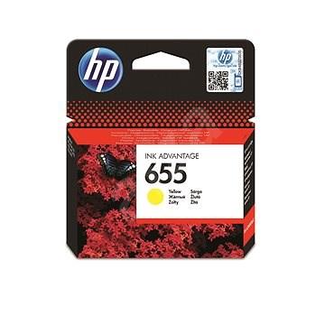 HP CZ112AE č. 655 žlutá - Cartridge
