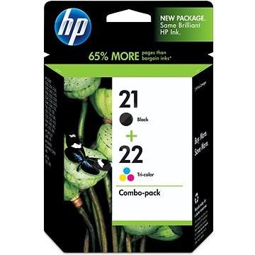 HP SD367AE č. 21 a č. 22 černá, barevná - Cartridge