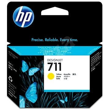HP CZ132A č. 711 žlutá - Cartridge