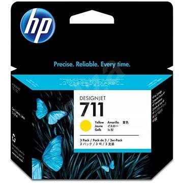 HP CZ136A č. 711 žlutá - Cartridge