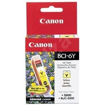 Canon BCI6Y žlutá - Cartridge