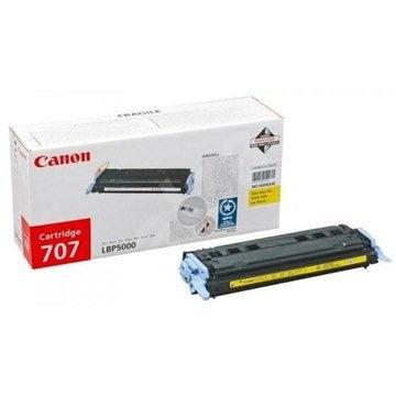 Canon CRG707Y žlutý - Toner