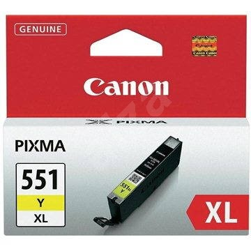 Canon CLI-551Y XL žlutá - Cartridge