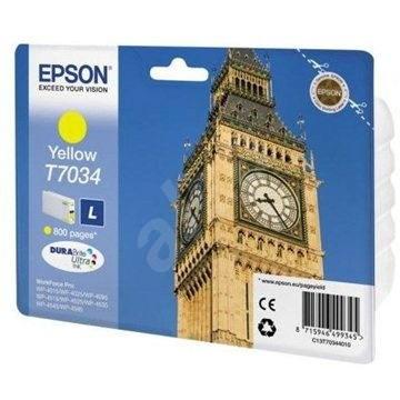 Epson T7034 L žlutá - Cartridge