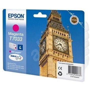 Epson T7033 L purpurová - Cartridge