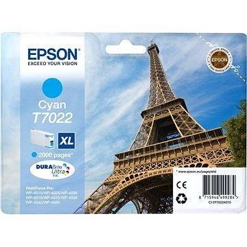 Epson T7022 XL azurová - Cartridge