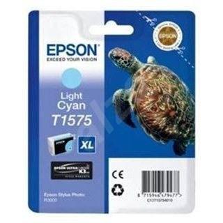 Epson T1575 světlá azurová - Cartridge