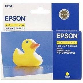 Epson T0554 žlutá - Cartridge