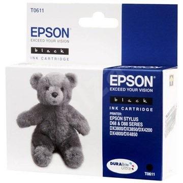 Epson T0611 černá - Cartridge